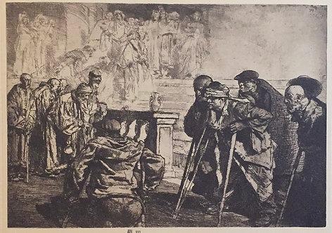 Frank Brangwyn, The Feast of Lazarus
