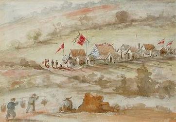 Horace Burkitt, Creswick Chinese Camp, 1