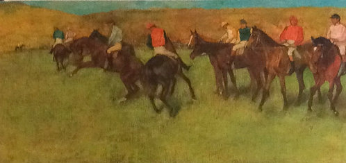 Edgar Degas, At the Races before the Start