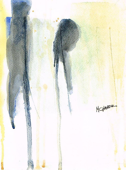Mercedes Chavez French Watercolour