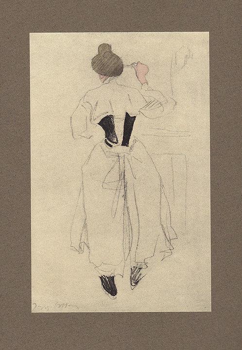 Jacques Villon, Le corset Noir