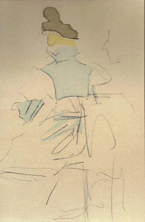 Jacques Villon, Le bonnet de velours