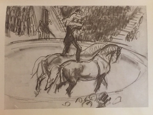 Laura Knight, Circus Horse II