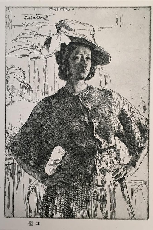 G L Brockhurst, The Mirror