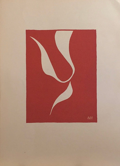 Matisse -  Lithograph - The Skaters II