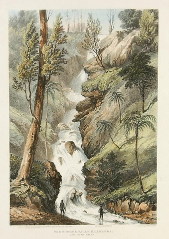 Robert Marsh Westacott, The Bourke Falls