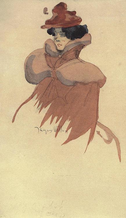 Jacques Villon, La femme au chapeau