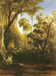 Conrad Martens, Forest Scene, Illawarra,
