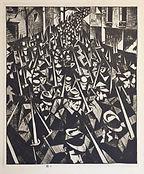CRW Nevinson, A Dawn, 1924