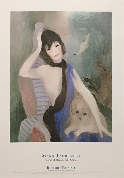 Marie Laurencin, Portrait of Mademoiselle Chanel