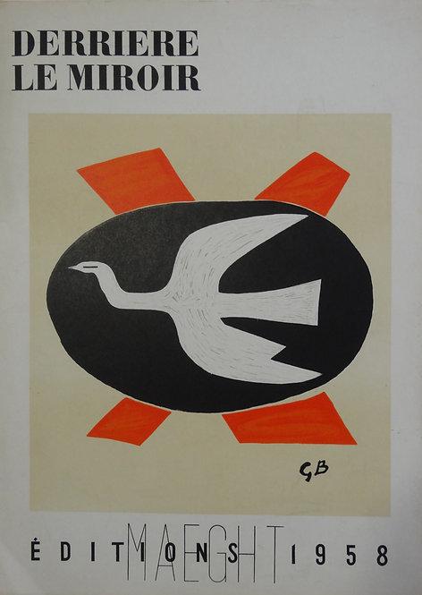 Georges Braque - original lithograph DLM