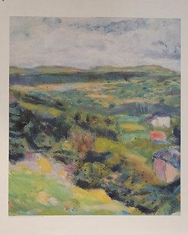 Pierre Bonnard, Observing Nature, Poster