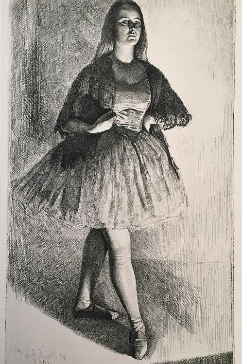 G L Brockhurst, The Dancer