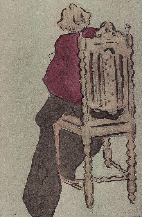 Jacques Villon, La chaise Henri II
