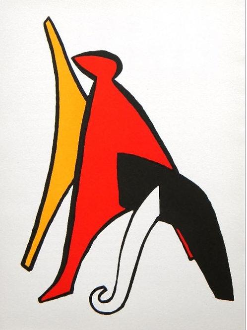 Calder - Plate 1 - Original lithograph