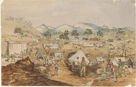 William Bentley, Mt Alexander Gold Diggi