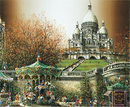 Paris Montmartre La Basilique,  Collection Guy Dessapt