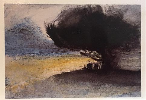 Lloyd Rees, Ancient Tree, Bruny Island 1988