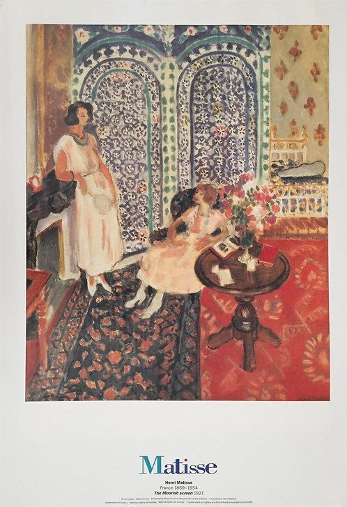 Henri Matisse, The Moorish Screen
