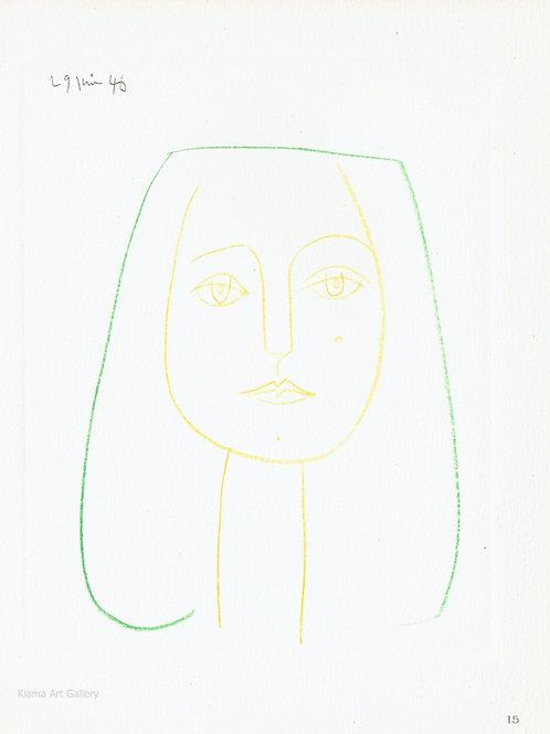 Pablo Picasso Dessins  Plate 15