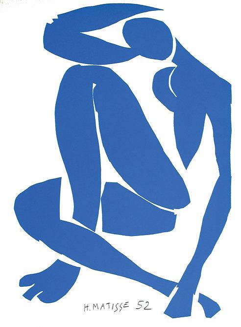 Matisse -  Lithograph - Nu Bleu IV