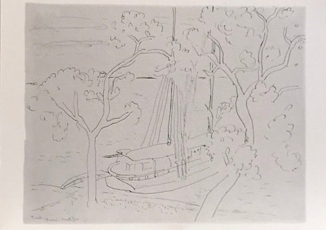 Henri Matisse, Tahiti Landscape