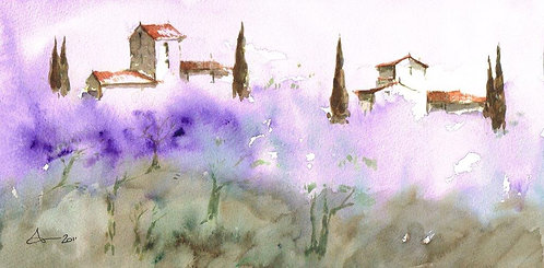 Gerard Toulongon French Countryside 1