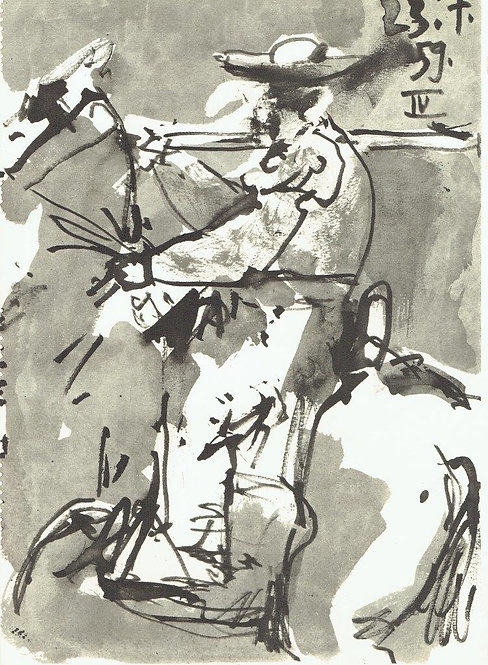 Pablo Picasso, Toros Y Toreros 25