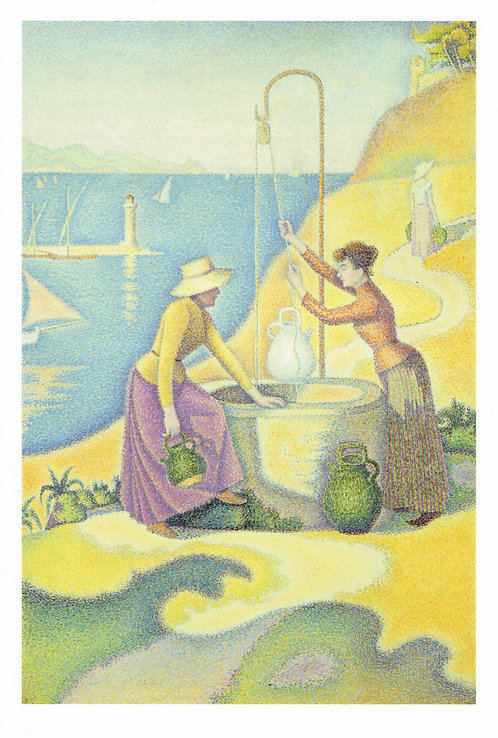 Paul Signac, Women at the Well,