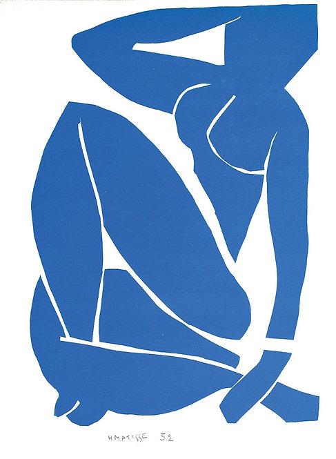 Matisse -  Lithograph - Nu Bleu III