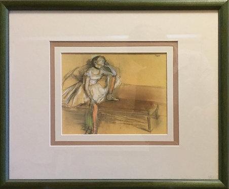 Edgar Degas,  Print of Dancer