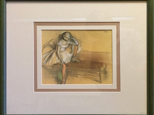 Edgar Degas,  Print of Dancer