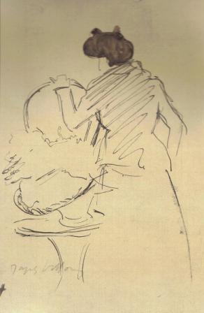 Jacques Villon, La mere du modele