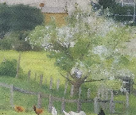 Clarice Beckett, End of the Garden