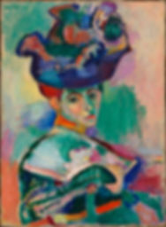 Matisse Woman with a Hat, 1905