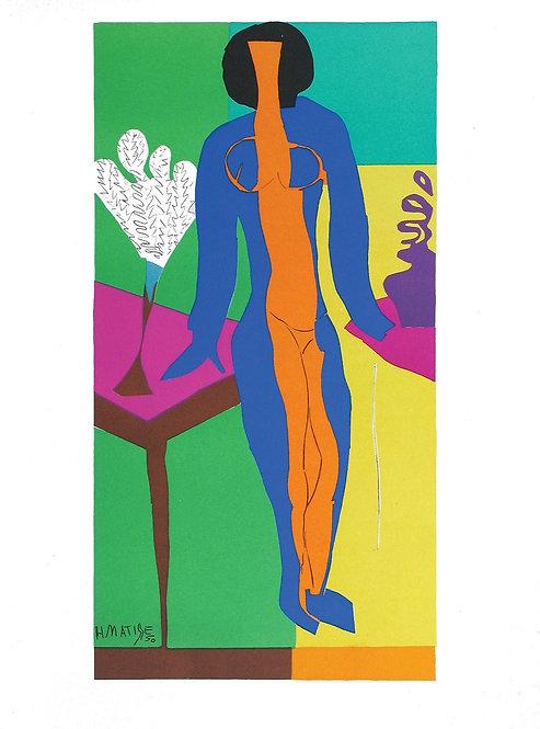 Matisse -  Lithograph - Zulma