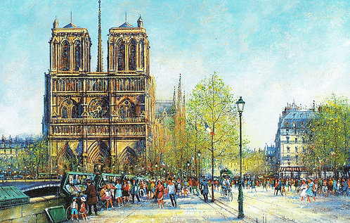 Paris  Notre Dame Collection Guy Dessapt