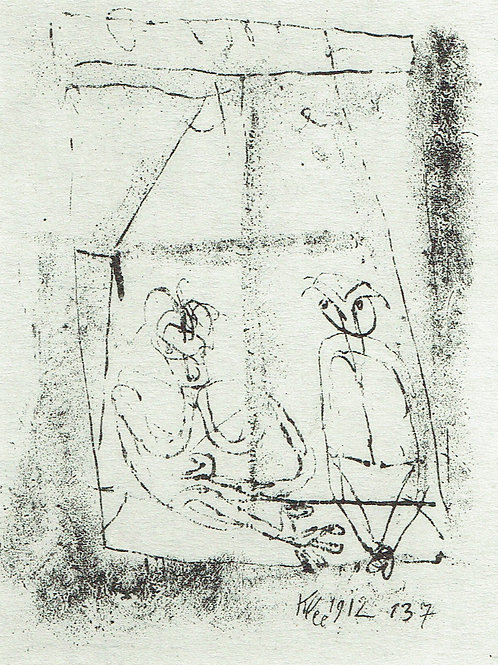 Paul Klee -  At The Window