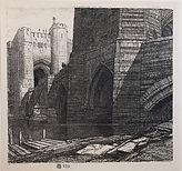 F L Griggs, The Barbican
