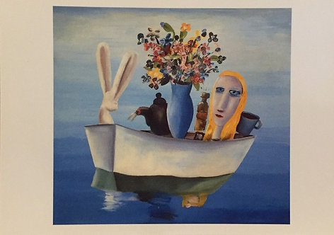 Charles Blackman, Alice in the Boat