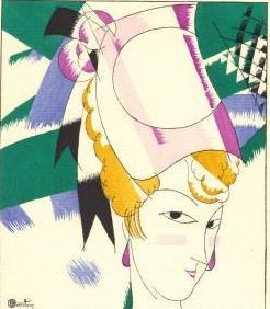 Gazette du Bon Ton 1920 No 7 Pochoir