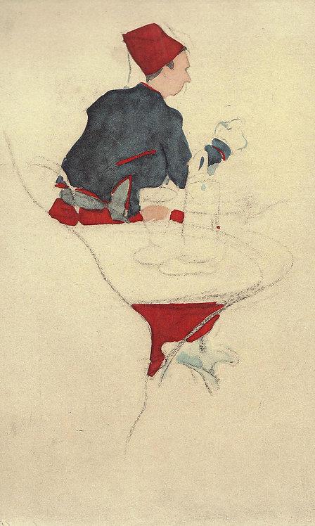 Jacques Villon, Un Zouave