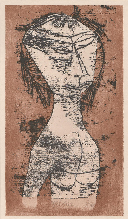 Paul Klee Tipped in plate