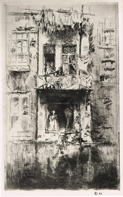 James McNeill Whistler, Balcony, Amsterdam