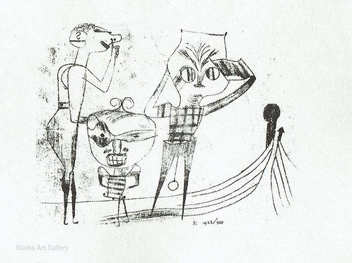Paul Klee -  Vulgar Comedy