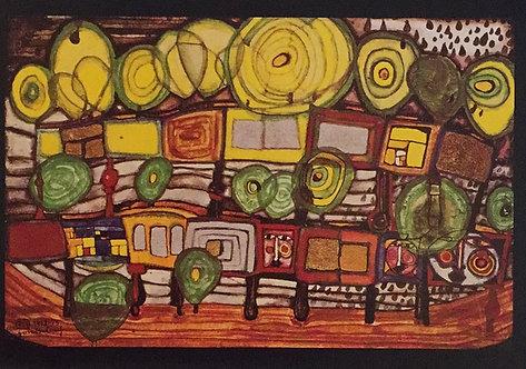 Hundertwasser, A House for Trees and for Men