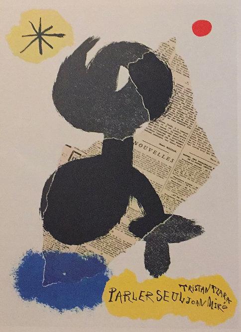 Joan Miro, Cover for Parler Seul