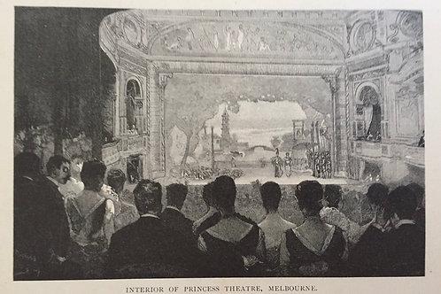 Interior of Princess Theatre, Melbourne