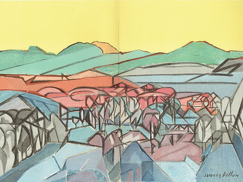 Jacques Villon - Lithograph L'Art Glorieux