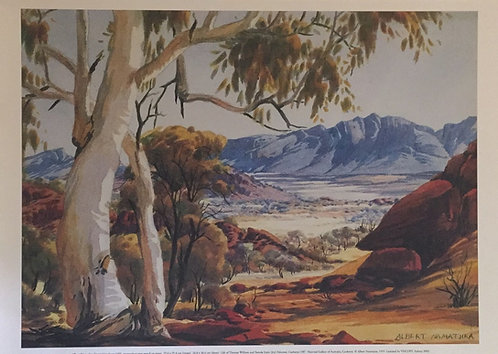 Albert Namatjira, Untitled Landscape, 1955